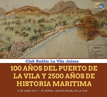 Conferencia: 100 años del Puerto de La Vila y 2.500 años de historia