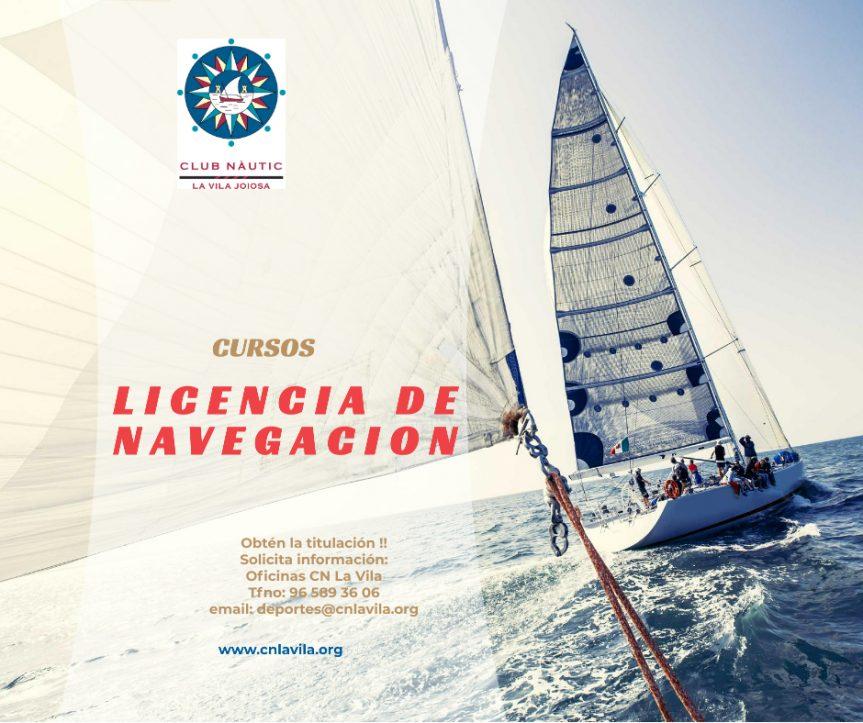 Curso Licencia de Navegación