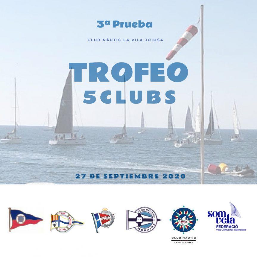 3ª Prueba Regata Trofeo 5Clubs en el CN La Vila Joiosa