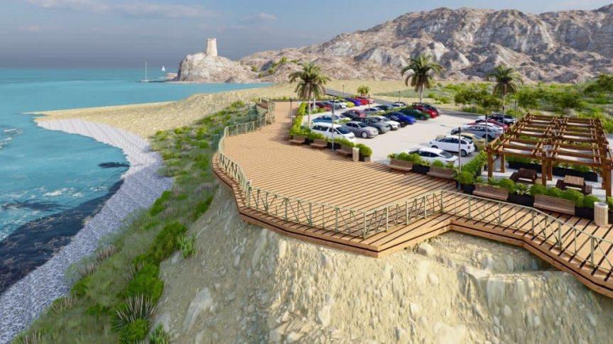 El Club Nàutic  acoge en su sede la aprobación de un aparcamiento y un mirador en la playa del Xarco de la Vila Joiosa