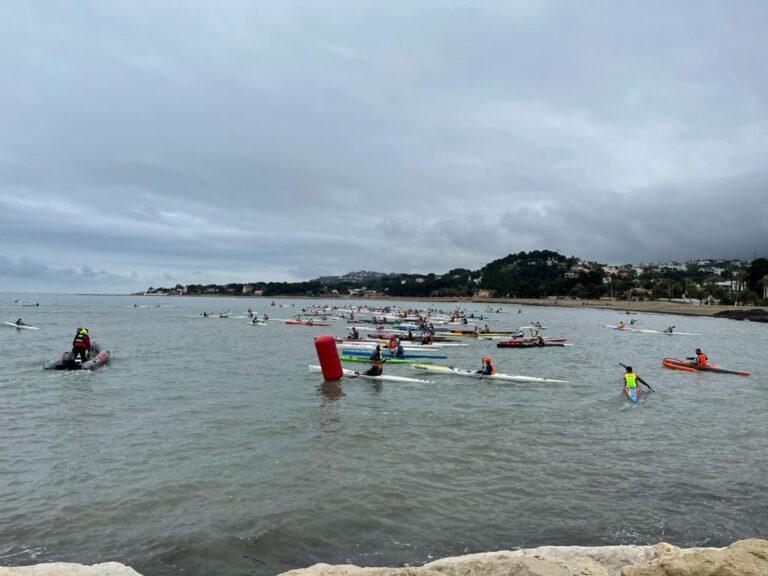 CN La Vila obtiene 9 podiums en la II Copa de España de Kayak de Mar en Denia