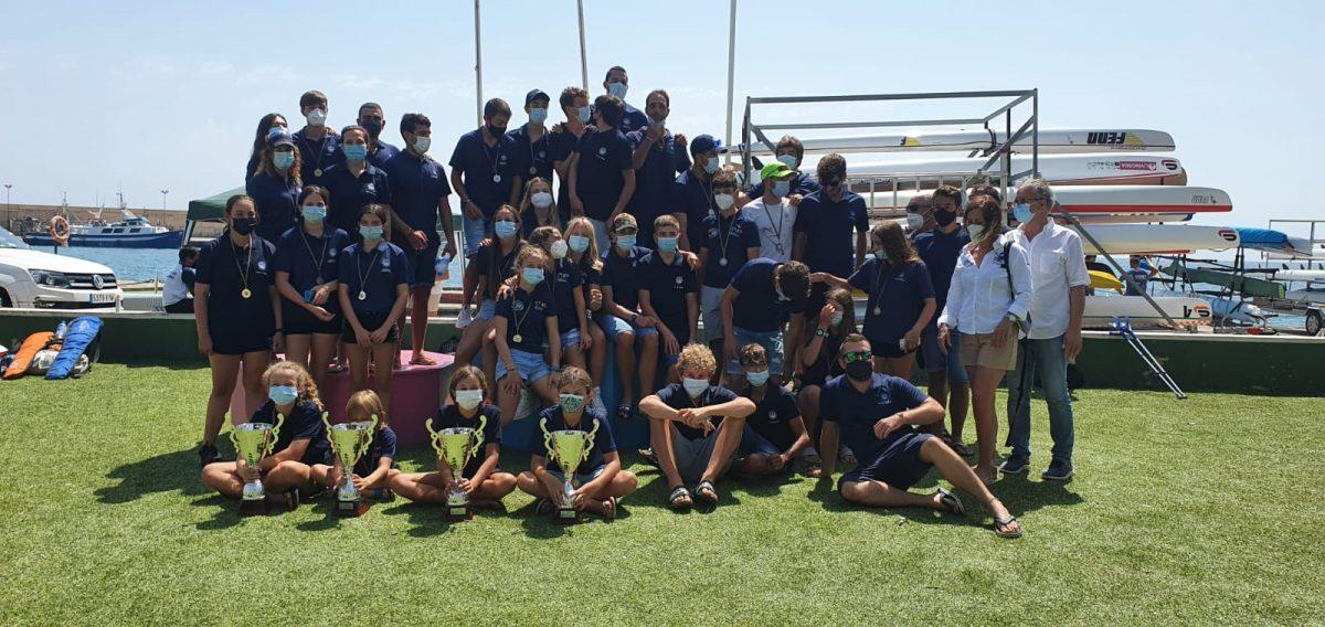 El Club Náutico de Villajoyosa revalida sus éxitos y su liderazgo en la Liga y en el Campeonato Autonómico de Kayak de Mar 2021